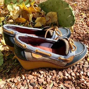 SPERRY Slip On WEDGE Shoes
